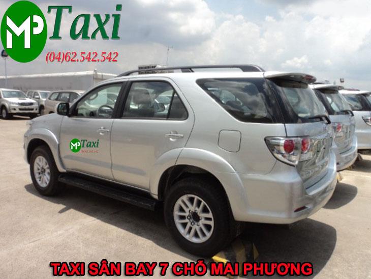 Xe taxi nội bài 7 chỗ giá rẻ