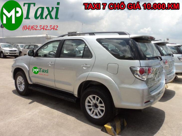 Taxi 7 chỗ Mai Phương