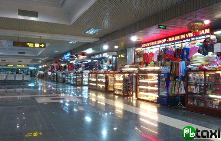 Khu vực mua sắm- đồ lưu niệm