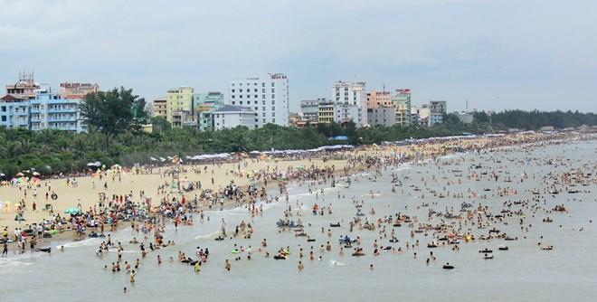 Bãi biển Sầm sơn thanh hóa