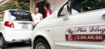 Số điện thoại và giá cước taxi Phù Đổng-2016
