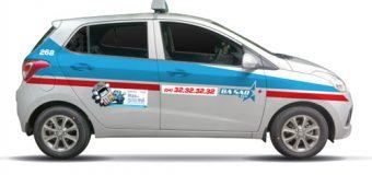 Giá cước và số điện thoại taxi ba sao